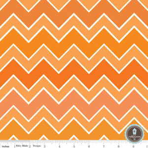 Riley Blake Shaded Chevron Blaze