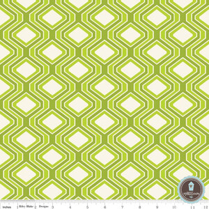 Riley Blake Home Decor Diamonds Lime
