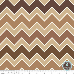 Riley Blake Shaded Chevron Bark