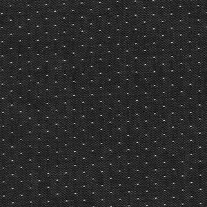 Robert Kaufman Denim Dot Black