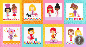 Robert Kaufman Girl Friends Zawody Panel