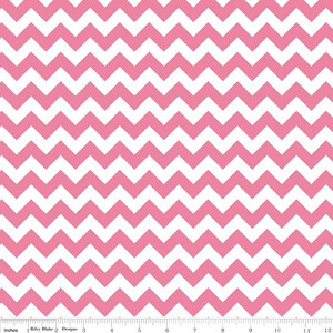 Riley Blake Small Chevron Różowy