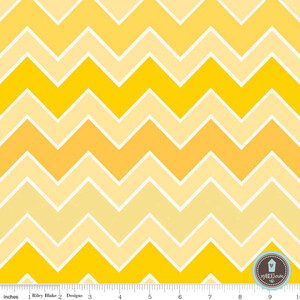 Riley Blake Shaded Chevron Sunrays
