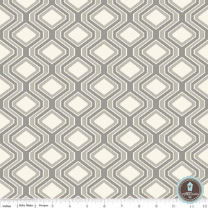 Riley Blake Home Decor Diamonds Gray