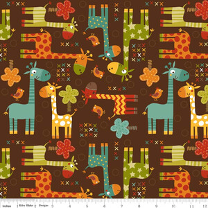 Riley Blake Home Decor Giraffe Crossing