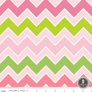 Riley Blake Shaded Chevron Summer
