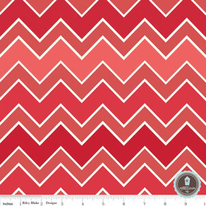 Riley Blake Shaded Chevron Cinnamon