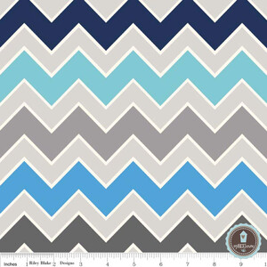 Riley Blake Shaded Chevron Serene